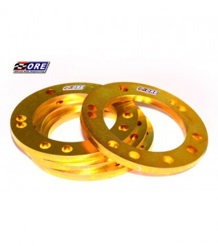Wheel spacers 10mm steel