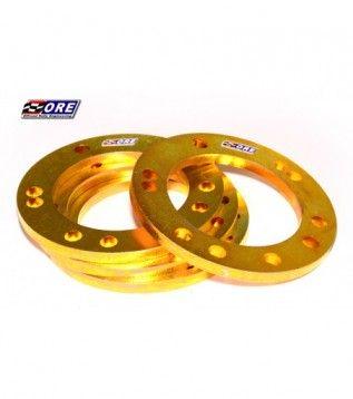Wheel spacers 10mm steel