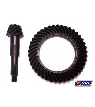 Lower gears for rear axle...
